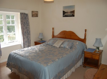 Master Bedroom devon holiday cottage