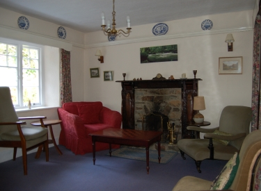 Sitting room Holiday Cottage Devon