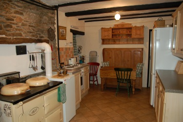 Farmhouse Kitchen holiday cottage devon